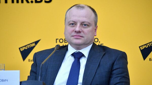 Первый заместитель министра промышленности Беларуси Сергей Гунько - Sputnik Беларусь