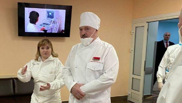 Прэзідэнт наведвае раённую бальніцу ў Маладзечне - Sputnik Беларусь