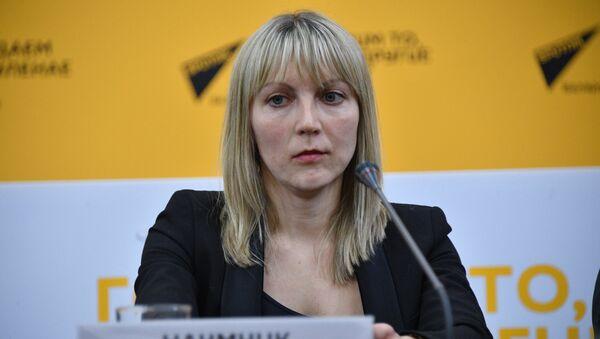 Генеральный секретарь Белорусской федерации бокса Светлана Наумчик - Sputnik Беларусь