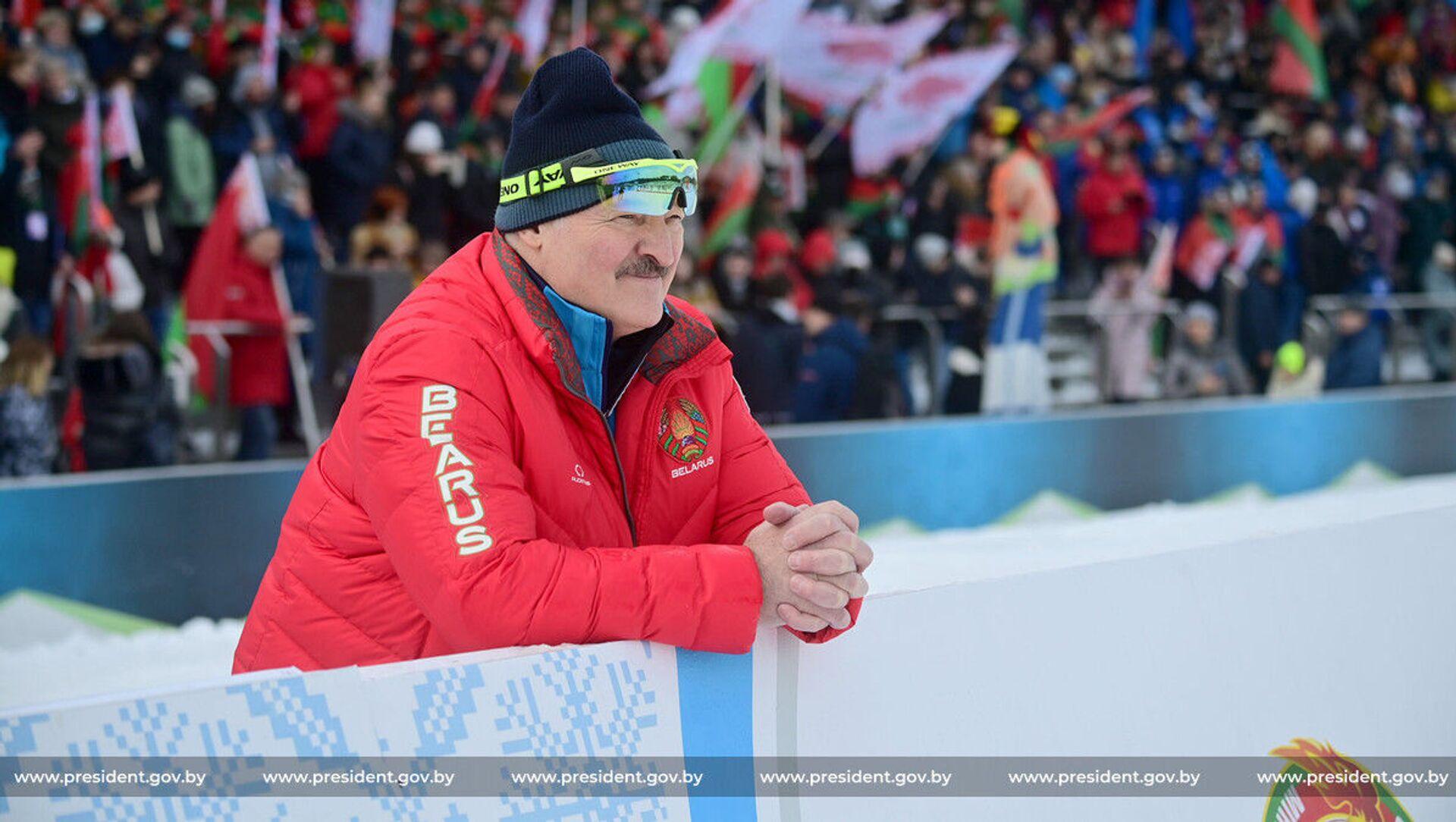 Президент Беларуси Александр Лукашенко - Sputnik Беларусь, 1920, 13.03.2021