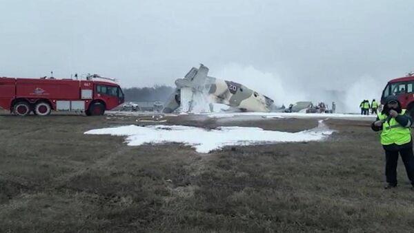В районе аэропорта Алматы упал самолет: есть погибшие - Sputnik Беларусь