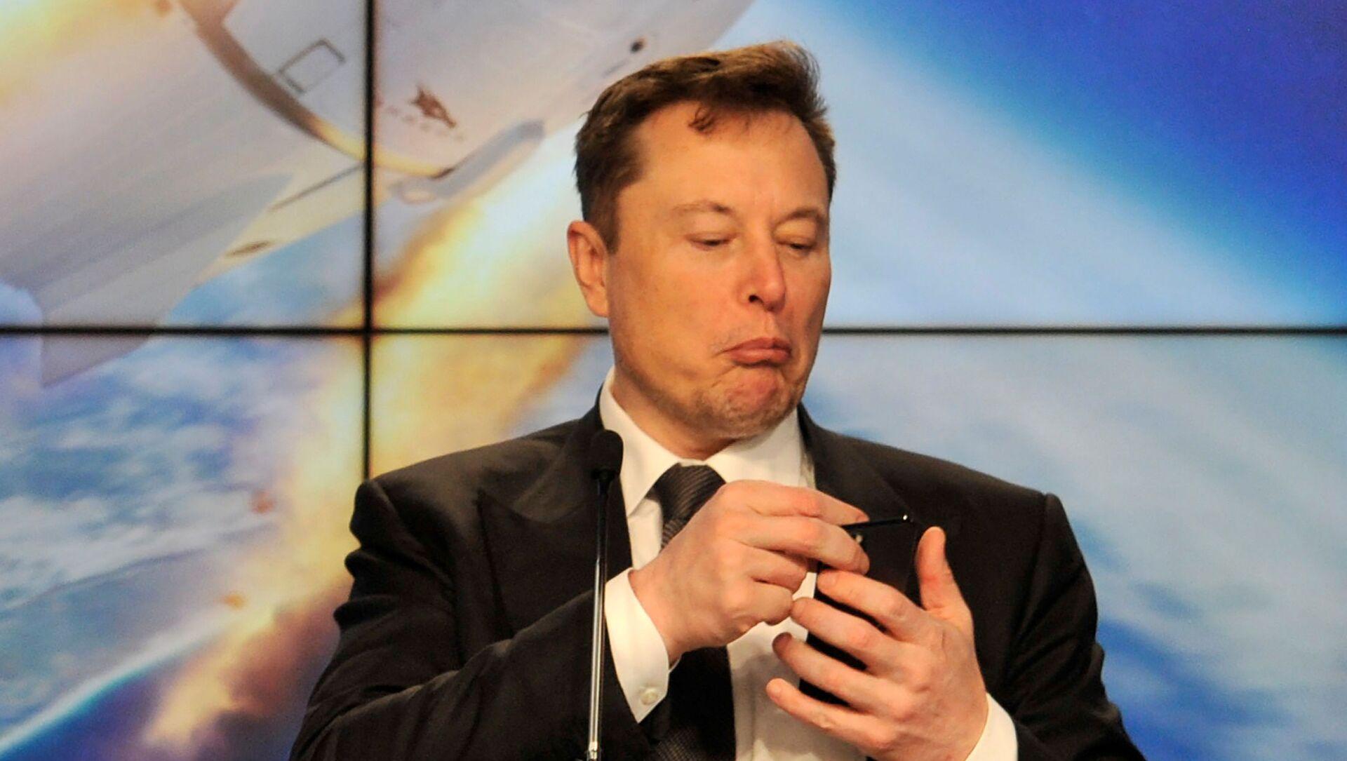 Основатель SpaceX Илон Маск - Sputnik Беларусь, 1920, 13.03.2021