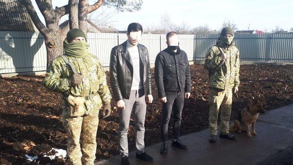 Белорус и россиянин задержаны на украинской границе - Sputnik Беларусь