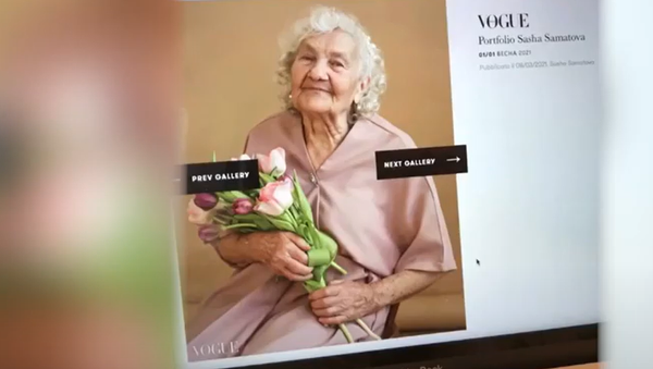 Пенсіянерка з Чэлябінска трапіла на сайт італьянскага Vogue - відэа - Sputnik Беларусь