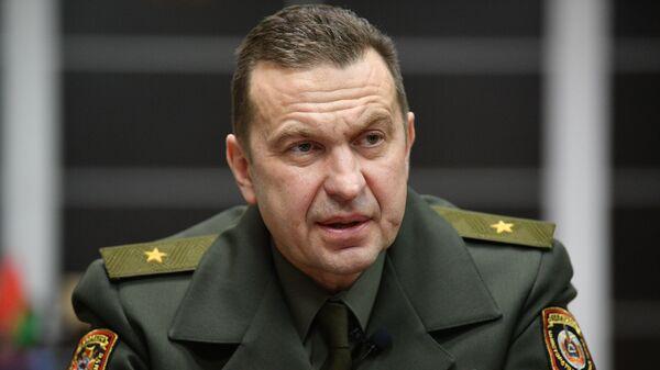 Командующий внутренними войсками Беларуси генерал-майор Николай Карпенков - Sputnik Беларусь