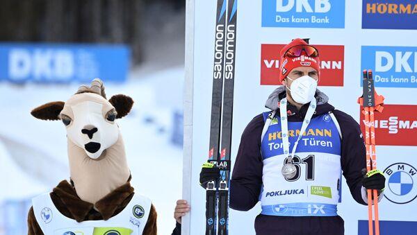 Немецкий биатлонист Арнд Пайффер - Sputnik Беларусь