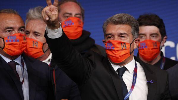 Президент Барселоны Жоан Лапорта - Sputnik Беларусь