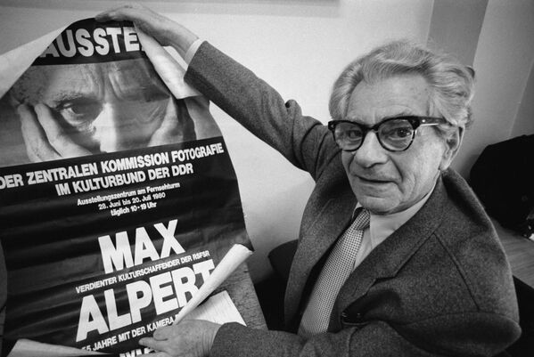 Вядомы савецкі фатограф і фотарэпарцёр Макс Уладзіміравіч Альперт (1899-1980). - Sputnik Беларусь