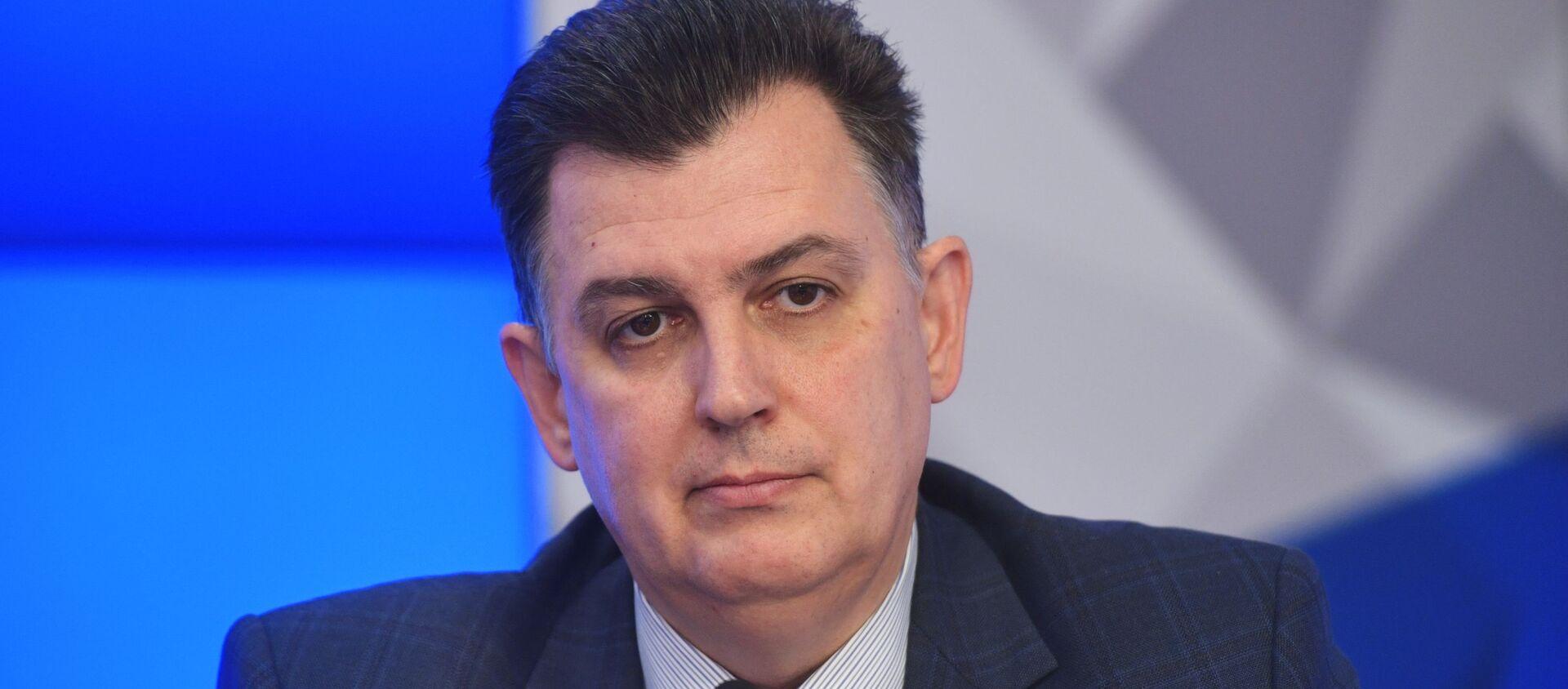 Политолог Александр Дудчак - Sputnik Беларусь, 1920, 18.03.2021