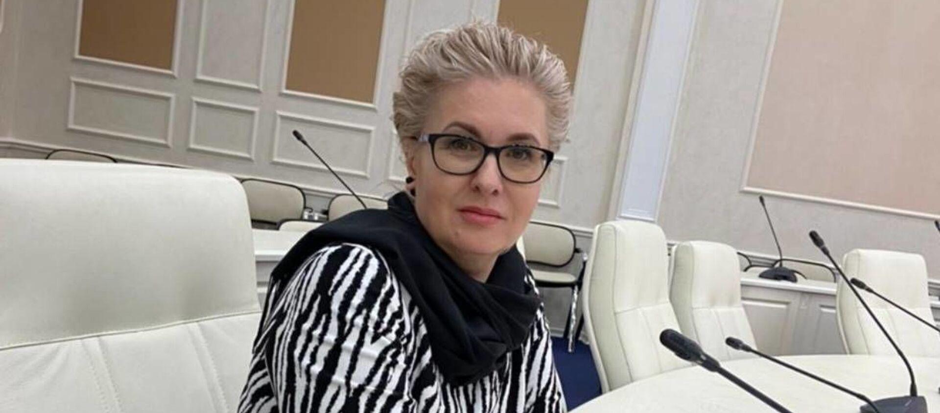 Палітычны эксперт Алена Панамарова - Sputnik Беларусь, 1920, 22.06.2021