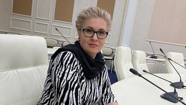 Палітычны эксперт Алена Панамарова - Sputnik Беларусь