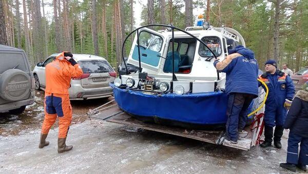 Спасение рыбаков в Финском заливе - Sputnik Беларусь