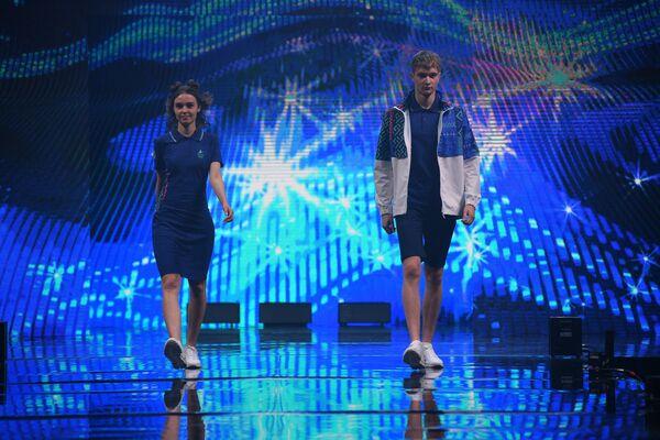 Прэзентацыя спартыўнай формы для беларускіх атлетаў у Токіа - Sputnik Беларусь