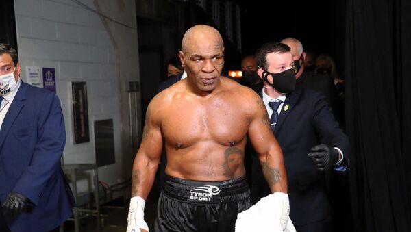 Американский боксер Майк Тайсон - Sputnik Беларусь