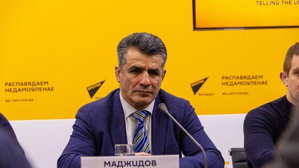 Старшыня Беларускай федэрацыі барацьбы Камандар Маджыдаў - Sputnik Беларусь