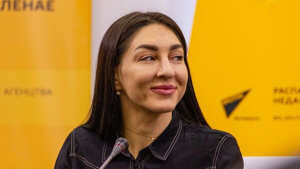 Член нацыянальнай каманды Васіліса Марзалюк - Sputnik Беларусь