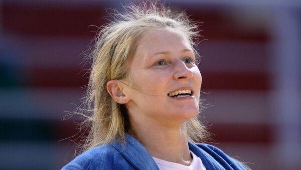 Белорусская самбистка Марина Жарская - Sputnik Беларусь