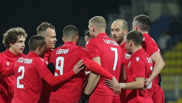 Футболисты сборной Беларуси - Sputnik Беларусь