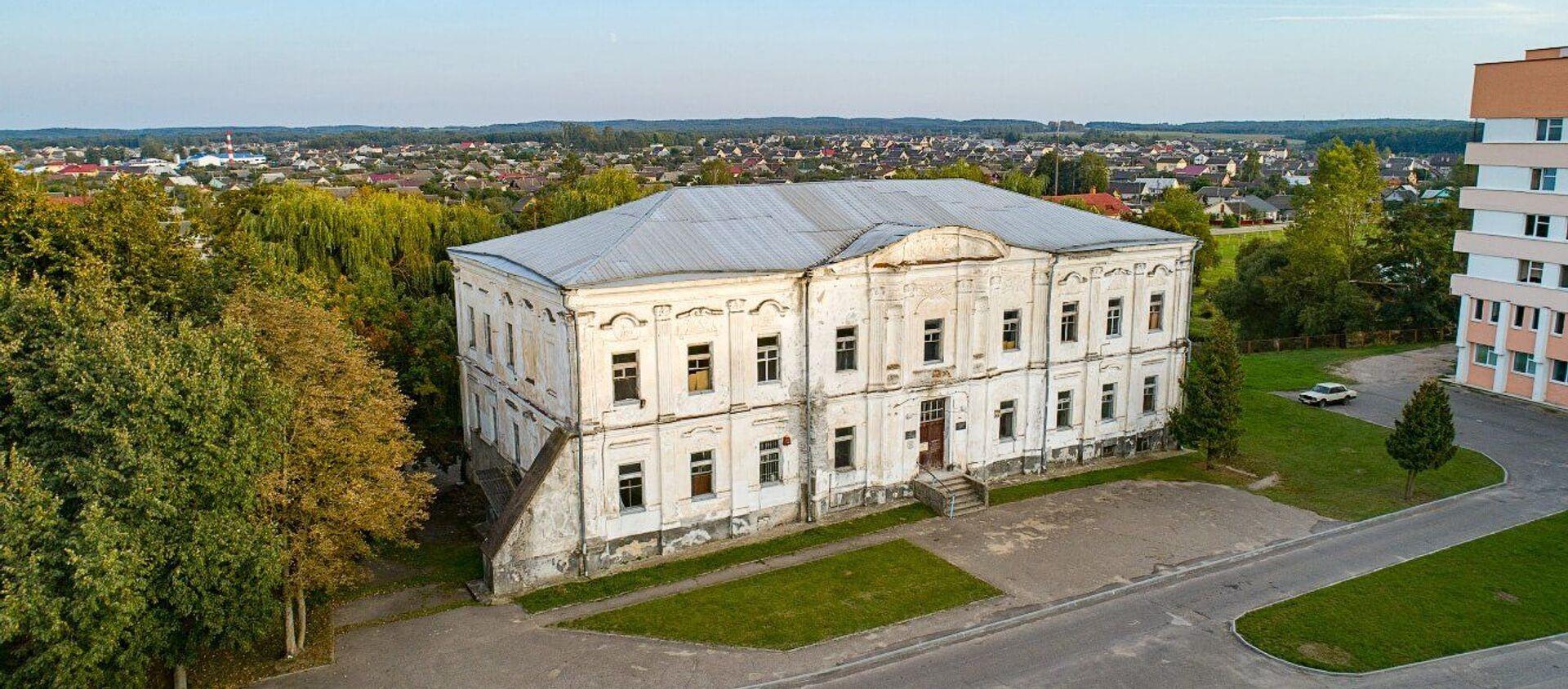 Палац Радзівілаў у горадзе Дзятлава (Гродзенская вобласць) - Sputnik Беларусь, 1920, 29.03.2021