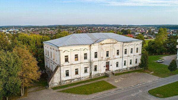 Палац Радзівілаў у горадзе Дзятлава (Гродзенская вобласць) - Sputnik Беларусь