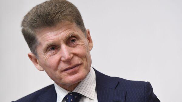 Губернатор Приморского края Олег Кожемяко - Sputnik Беларусь