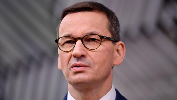 Прэм'ер-міністр Польшчы Матэуш Маравецкі - Sputnik Беларусь