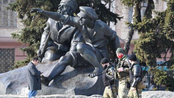 Правоохранительные органы в Минске 27 марта - Sputnik Беларусь