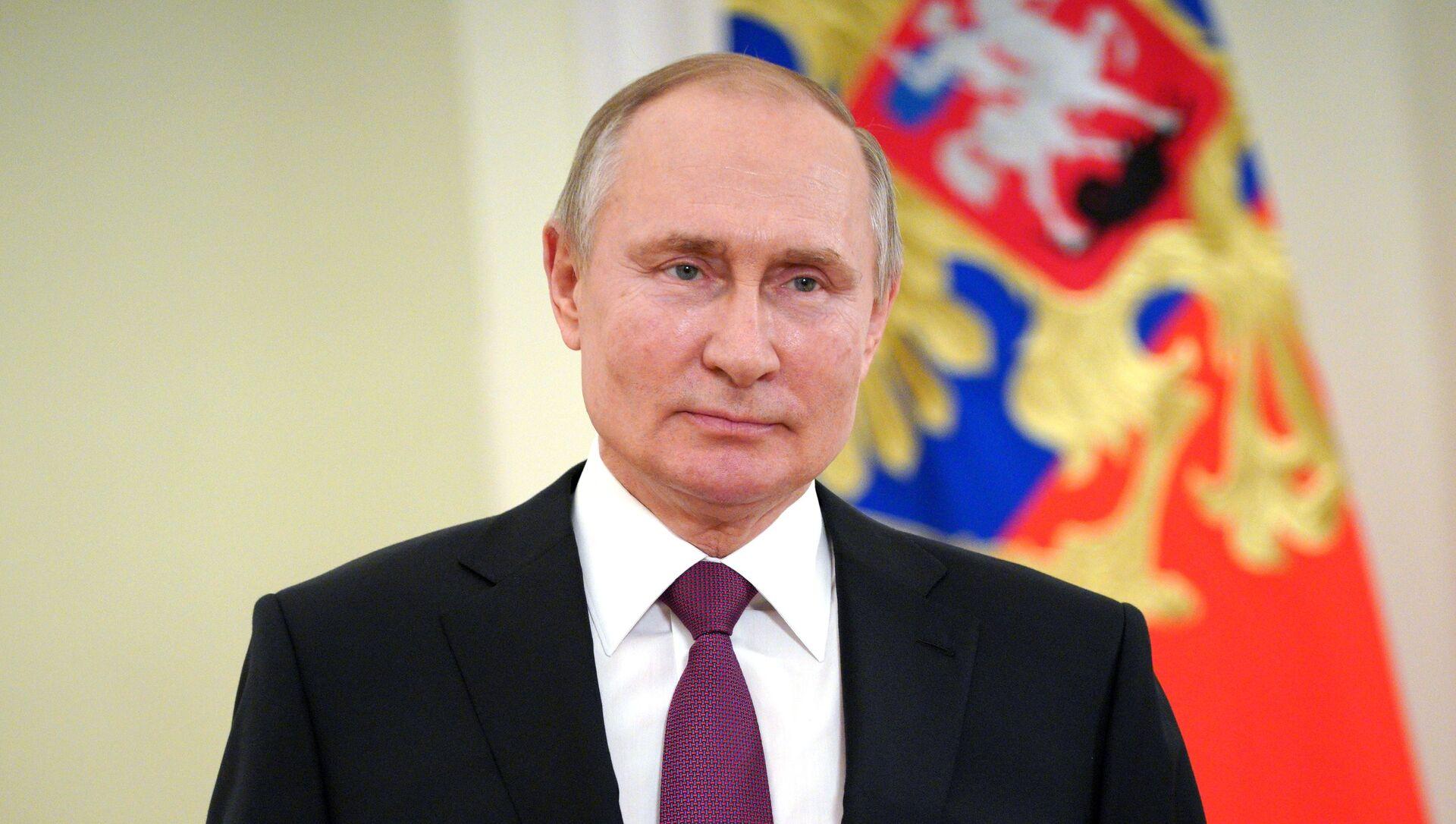 Президент России Владимир Путин, архивное фото - Sputnik Беларусь, 1920, 28.03.2021