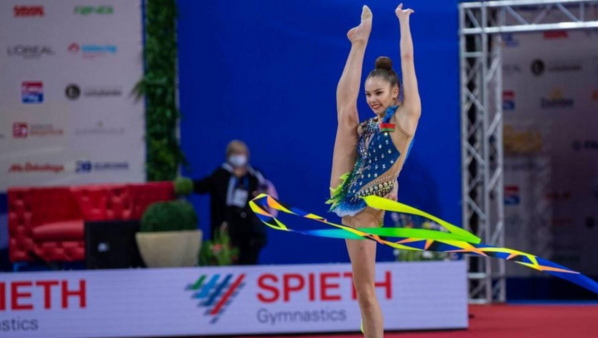 Гімнастка Анастасія Салас - Sputnik Беларусь, 1920, 29.03.2021