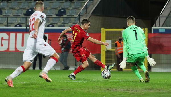Матч квалификации ЧМ-2022 Бельгия - Беларусь - Sputnik Беларусь