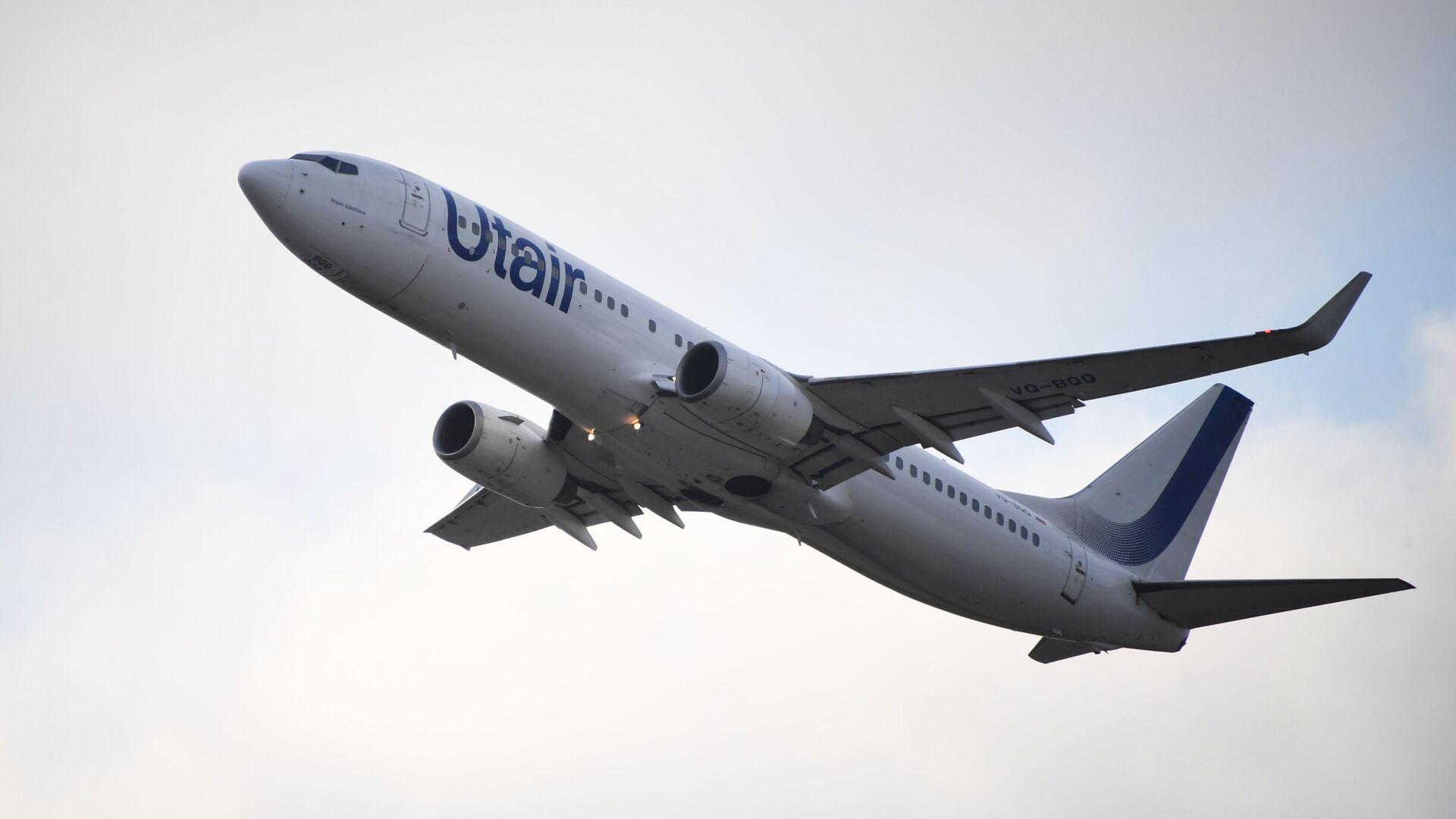 Самолет Boeing 737-800 авиакомпании ЮТэйр - Sputnik Беларусь, 1920, 04.10.2021