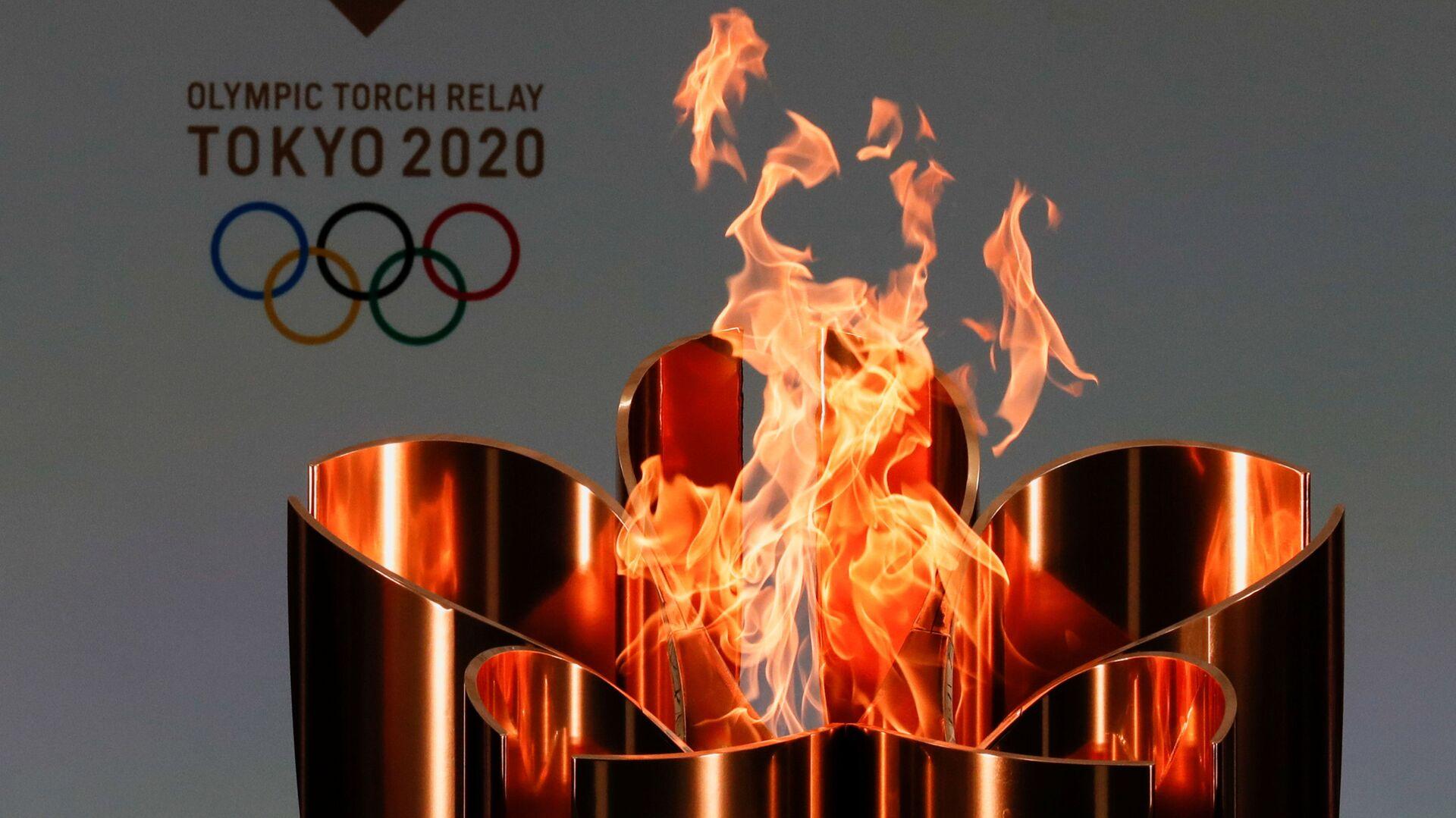 Олимпийский огонь в Токио - Sputnik Беларусь, 1920, 06.04.2021