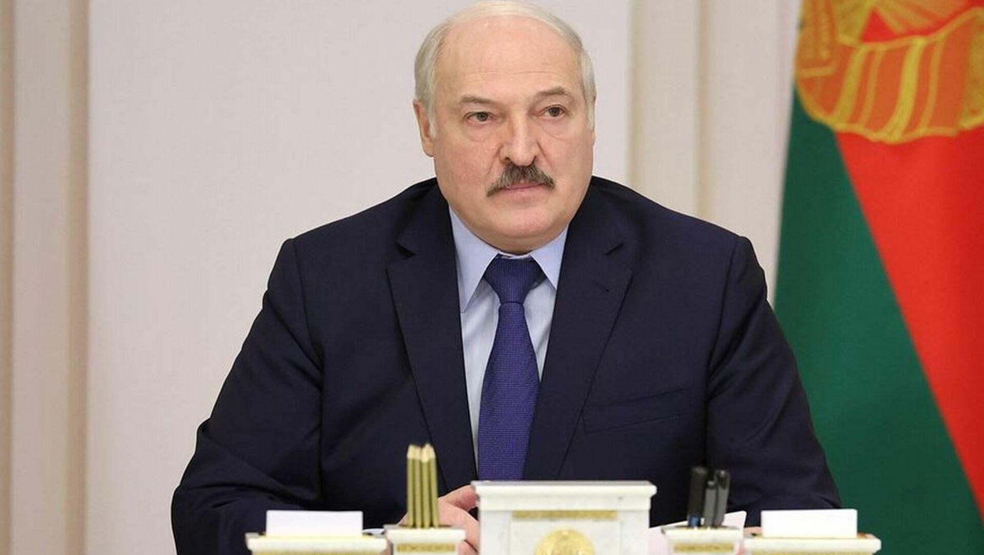 Президент Беларуси Александр Лукашенко - Sputnik Беларусь, 1920, 19.04.2021