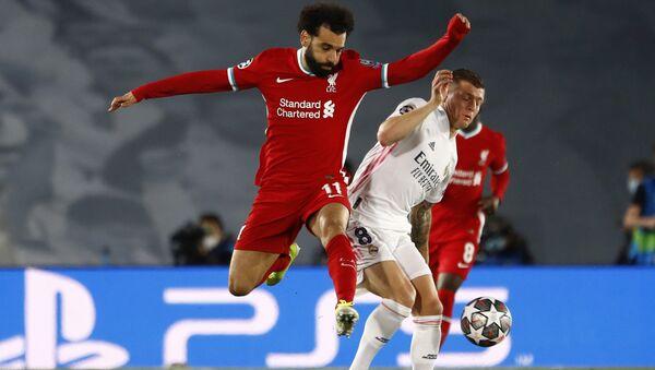 Матч между командами Реал Мадрид и Ливерпуль - Sputnik Беларусь