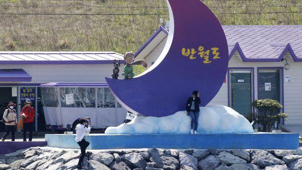 Фиолетовые острова в Южной Корее - Sputnik Беларусь