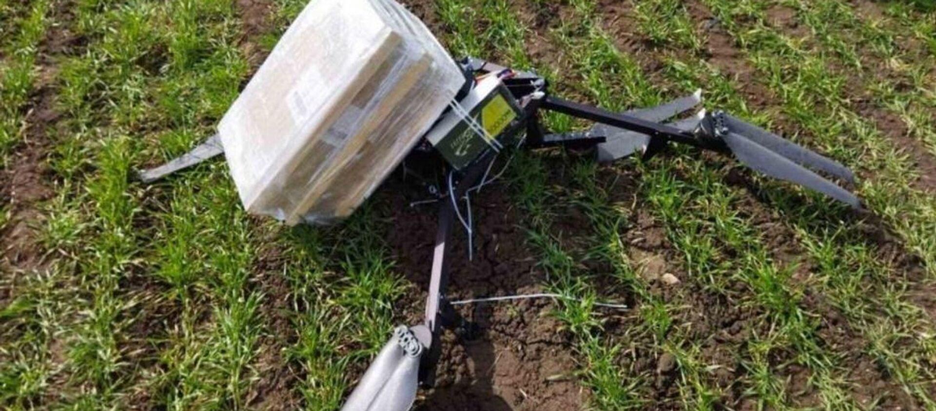 Белорусские пограничники сбили самодельный дрон в Брестском районе - Sputnik Беларусь, 1920, 07.04.2021