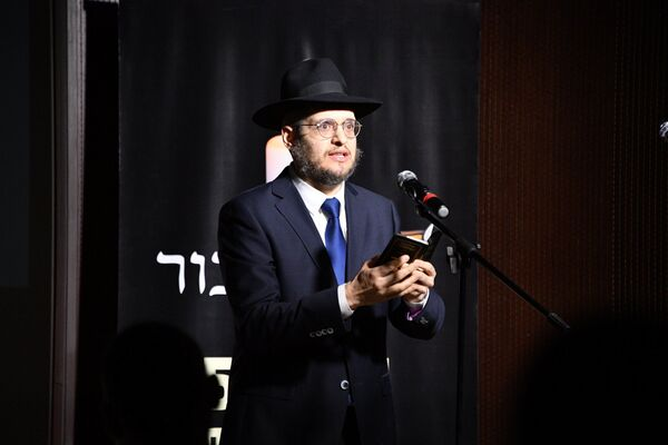 Главный раввин Объединения иудейских религиозных общин в Республике Беларусь Шнеор Залман Дайч - Sputnik Беларусь