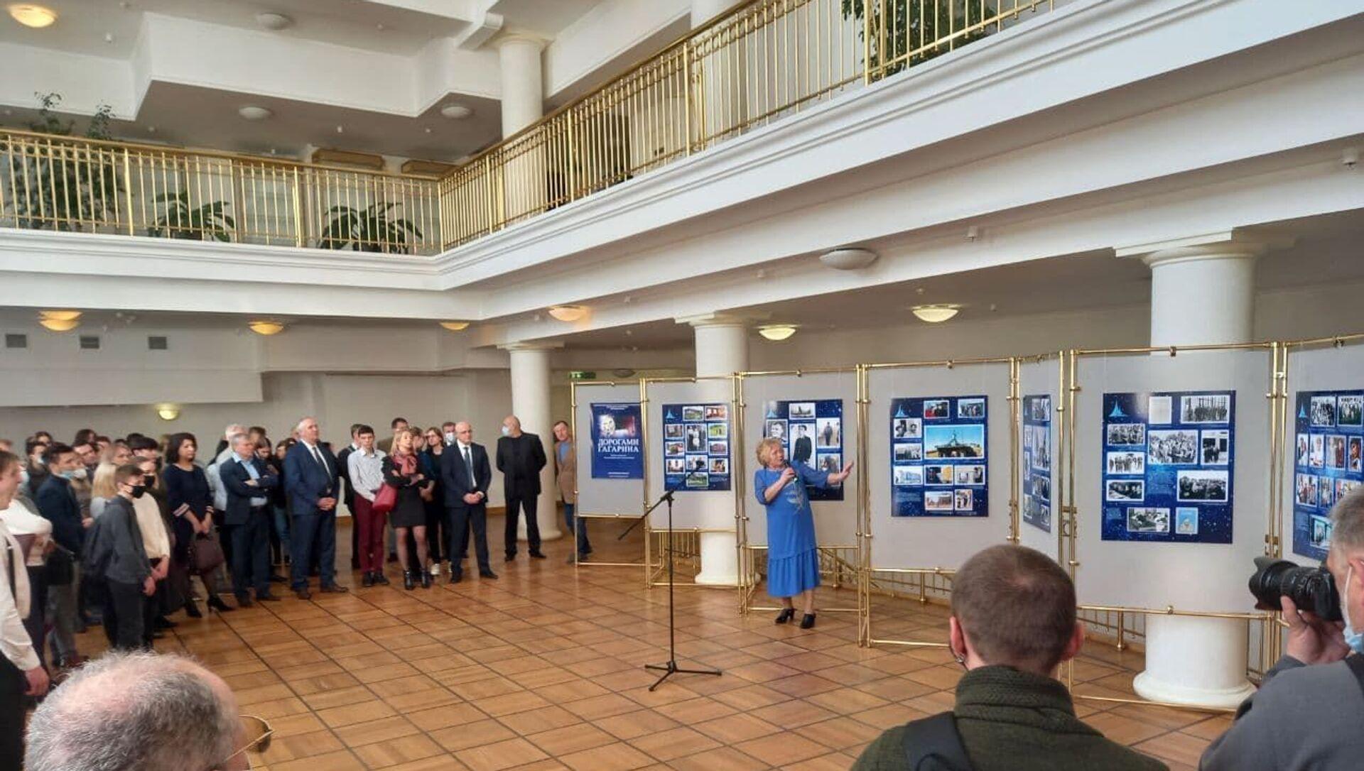 Выставка ко Дню космонавтики начала свою работу в Доме Москвы - Sputnik Беларусь, 1920, 08.04.2021
