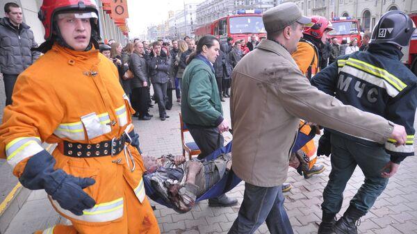 Взрыв в минском метро 11 апреля 2011 года - Sputnik Беларусь