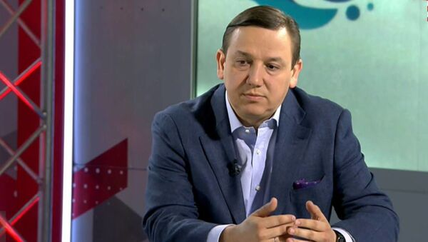 Министр информации Беларуси Владимир Перцов - Sputnik Беларусь