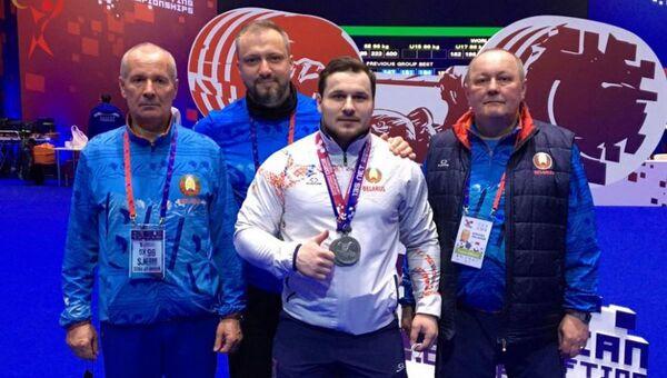 Пётр Асаенок заняў другое месца на ЧЕ Еўропы - Sputnik Беларусь