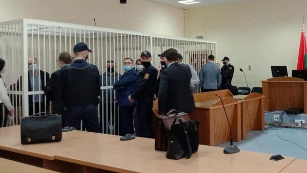 Допыт сведак у судзе па справе Віктара Бабарыкі - Sputnik Беларусь