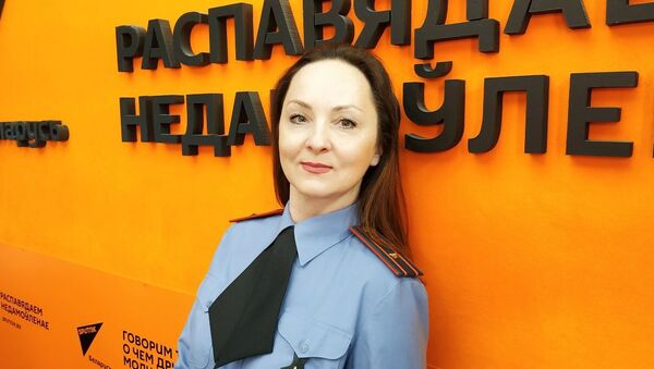 Старший инспектор отделения по агитации и пропаганде ГАИ Минской области Ирина Сапунова - Sputnik Беларусь