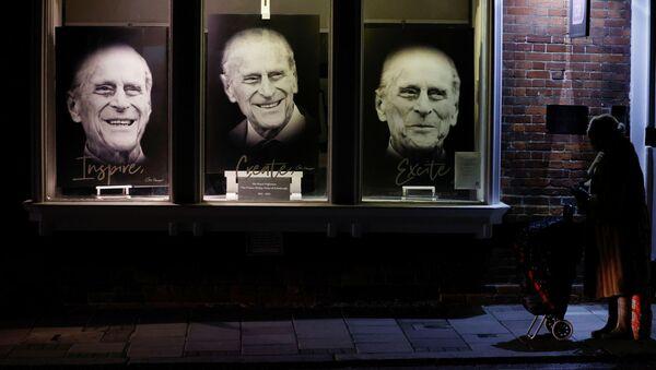 Портреты принца Филиппа в Лондоне - Sputnik Беларусь