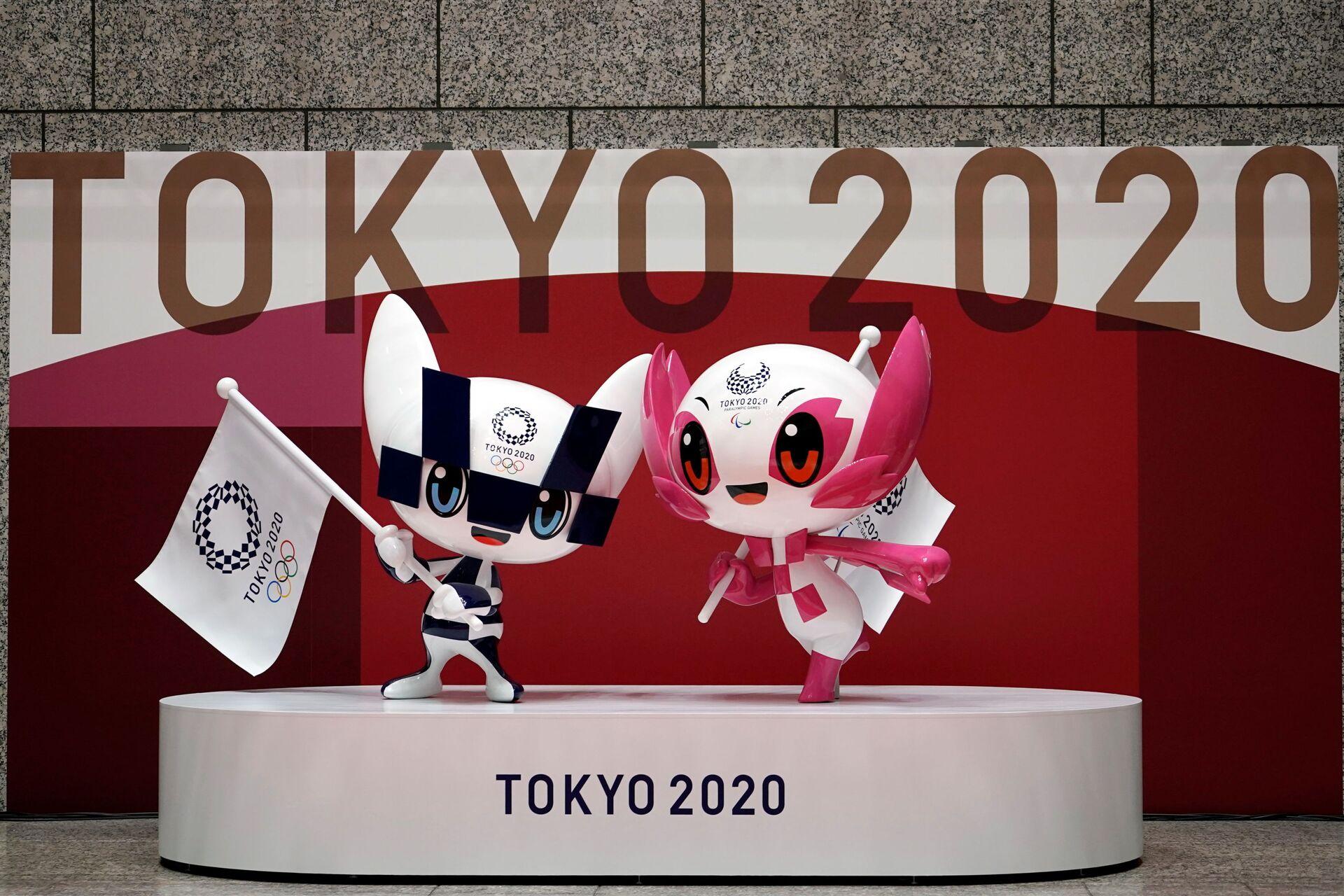 Обратный отсчет до старта Олимпиады запустили в Токио - Sputnik Беларусь, 1920, 14.04.2021