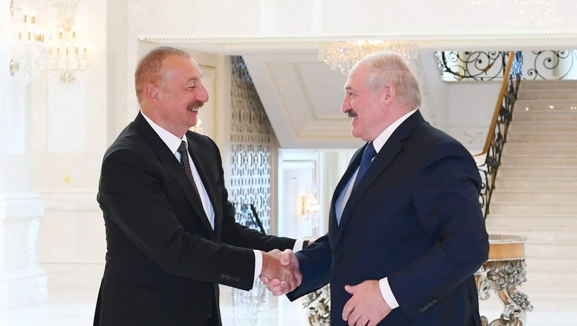 Переговоры Александра Лукашенко и Ильхама Алиева - Sputnik Беларусь, 1920, 14.04.2021