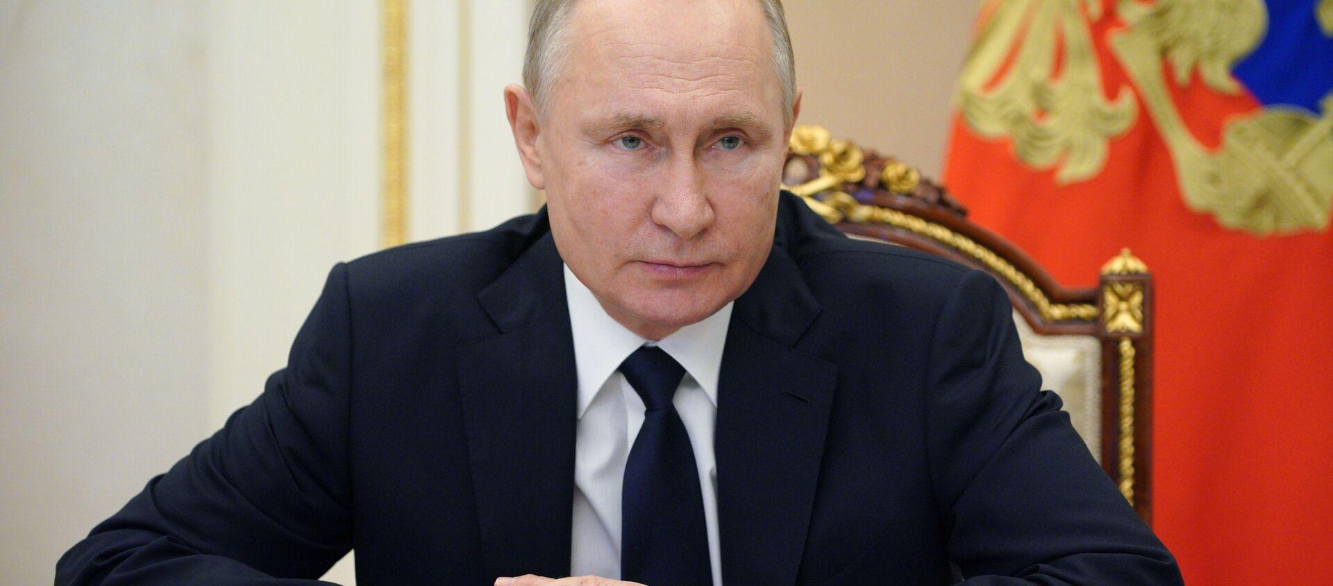 Президент России Владимир Путин - Sputnik Беларусь, 1920, 14.04.2021
