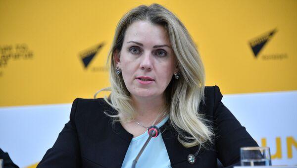 Директор департамента по туризму министерства спорта и туризма Беларуси Ирина Воронович  - Sputnik Беларусь