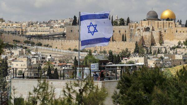 Ізраільскі сцяг у Іерусаліме - Sputnik Беларусь