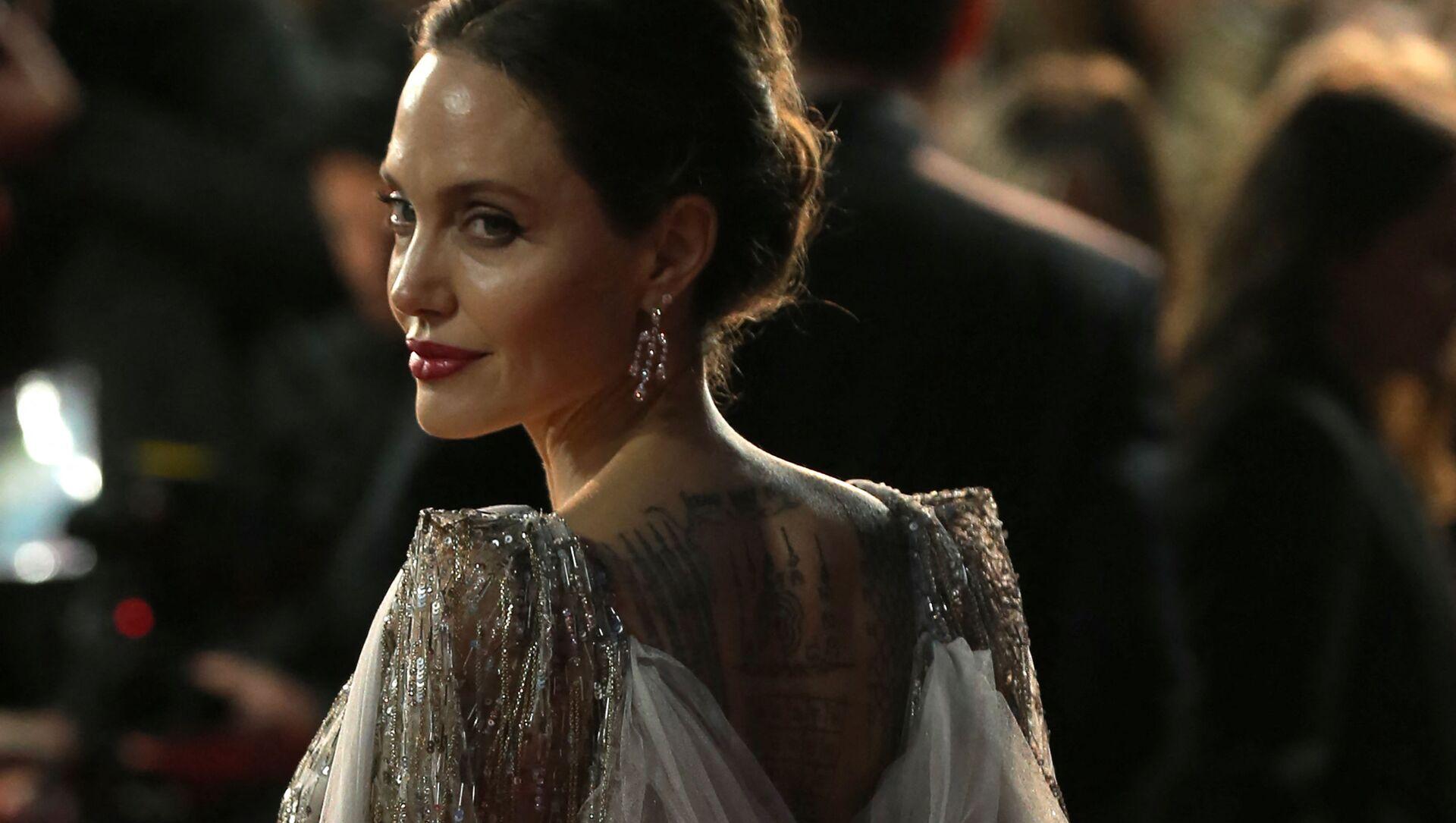 Голливудская актриса Анджелина Джоли, архивное фото - Sputnik Беларусь, 1920, 16.04.2021